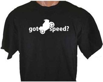 Got Speed? Crotch Rocket Bike T-Shirt