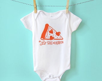 Onesie, Baby Gift, Funny Baby Clothes, Gender Neutral, Pizza