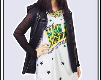 Graphic Jersey Tank Dress