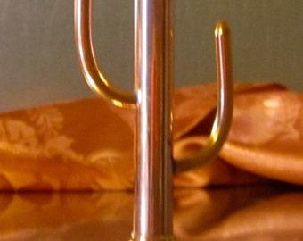 Copper &  Bronze Cactus Ring Holder