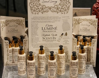 Scent-In Gelee Fine Fragrance-scent for the Home, or favorite space! A candle in a bottle! Use inside your Lumine for instant scented air!