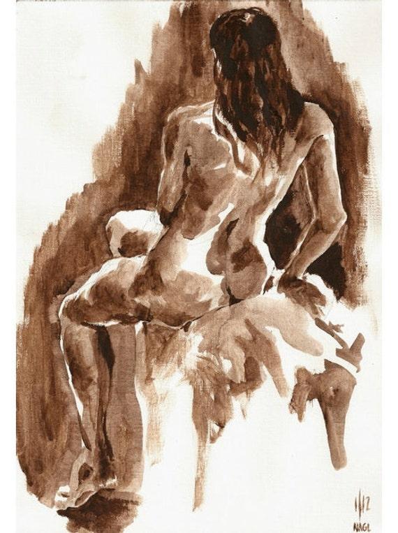 Blushing nude Nude Photos