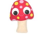 Mushroom - Marty the Mushroom - Woodland Decoration - Mushroom Gift - Mushroom Plush - Kawaii Plush - Mushroom Softy - Weird Plush