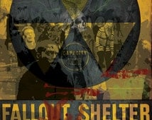 Zombie Fallout Shelter Overrun! high quality 11 x 17 poster