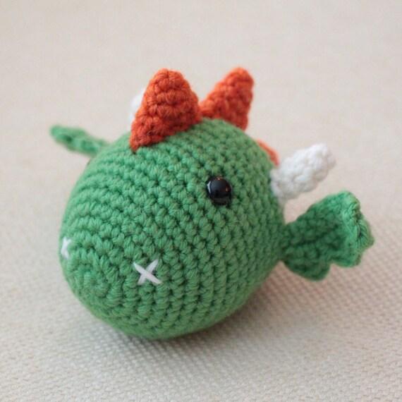 Amigurumi Chinese Dragon : Dragon Chinese Zodiac Amigurumi Montessori by ...