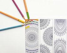 Unique Mandala Bookmark Related Items