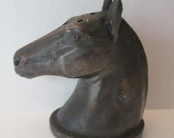 Jennings Brothers Horse Head Salt Shaker