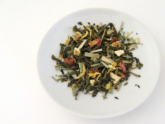 Organic Sunrise Melody Green Tea • 3.5 oz. Tin • Luxury Loose Leaf Tea Blend