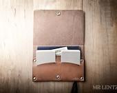 Leather Passport Wallet, Leather Passport case, leather passport protector, passport keeper 041