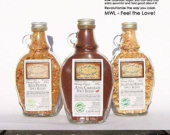 Pick 3 Artisan Gourmet Spice Blends Herb Spice & Veggie - Organic Pasta Sauce Mix - Dip Mix - BBQ Grill Rub - Salad Dressing Mix