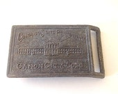 Hippie Retro Colorado State Penitentiary Metal Belt Buckle with Prison Image, 1960s Belt Buckle - Hot Guy Man Accessories