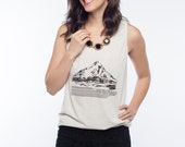 American Apparel Unisex Tank Top with Mount Hood