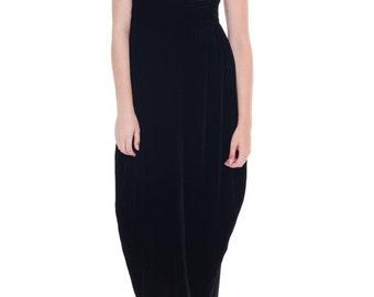 1980s Vintage Norma Kamali Minimal Jumpsuit  Size: S/M/L