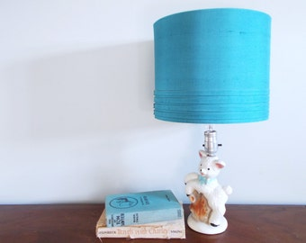 Vintage  Nursery Lamb Lamp