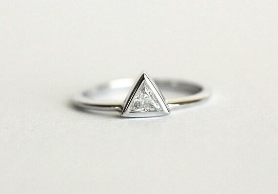 Triangle Diamond Engagement Ringtrillion Ring By Minimalvs. Box Pendant. Nice Diamond. Custom Brooch. Climber Earrings. Champagne Stud Earrings. Electrician Wedding Rings. Cartier Emerald. Capricorn Pendant
