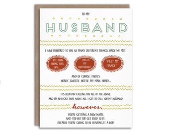 PRINTABLE Pregnancy Reveal Card for Husband -- You're Going to be a Dad! // printable file