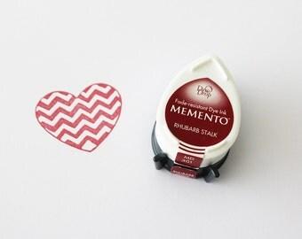 Memento Dew Drop ink pad, Rhubarb stalk MD 301