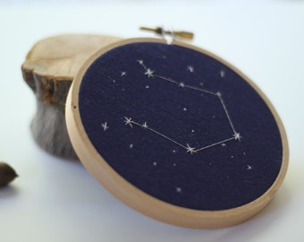"Libra 4"" Embroidery"