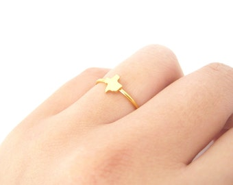 Tiny Texas Ring - 4013