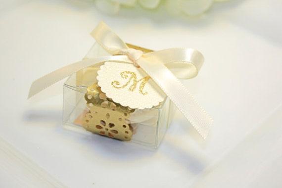 ... Favor box, Gold Macaron Wedding Favor BoxSet of 30 Gold Favor Boxes