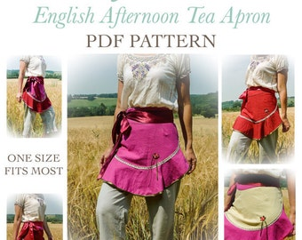 Apron sewing pattern / pdf / instant download / by Verity Hope