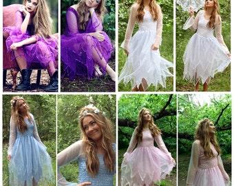 Adult Faerie Costume ~ Renaissance  ~ Theatre ~ Fairy Party ~ Masquerade~ Batcholette Party