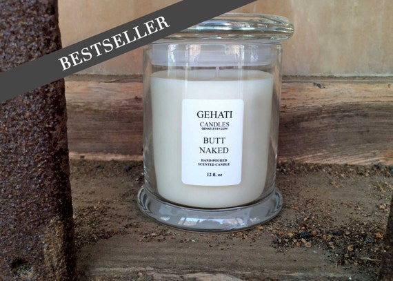 naked scented candles Butt