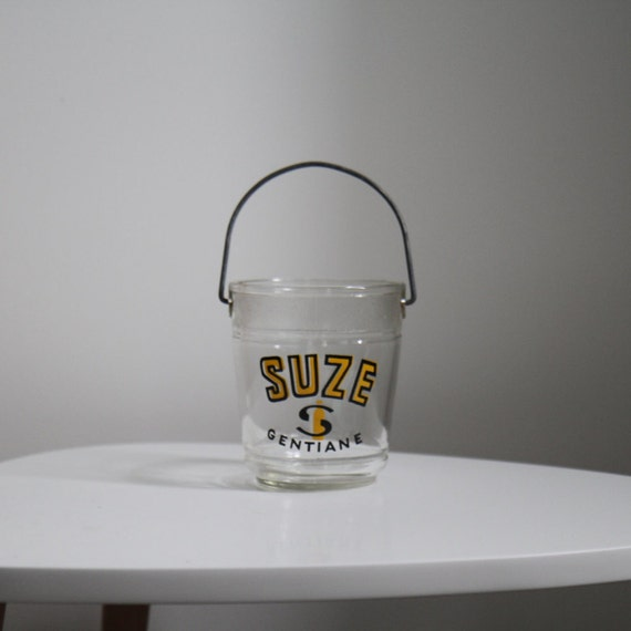 seau gla on en verre de la marque suze ap ritif la. Black Bedroom Furniture Sets. Home Design Ideas