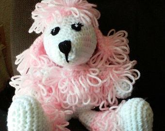 Crochet Poodle Pattern Only