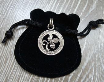 Quarter dollar fleuron pendant (STP) Stone Temple Pilots jewely Scott Weiland clover Shangri-la Dee Da Purple Core Tiny Music