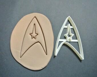 Star Trek Original Command Badge Cookie Cutter