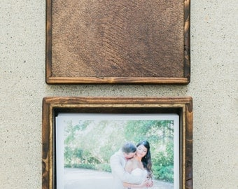 REGULAR handmade 4x6 photo box (holds 100 photos)