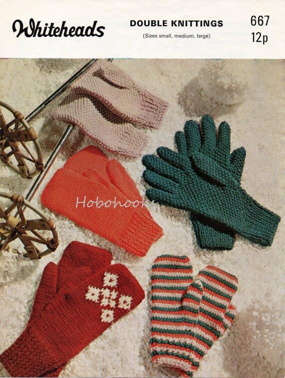 Knitting Pattern Mens Gloves Dk : Womens Gloves Knitting Pattern Mens Gloves Knitting by ...