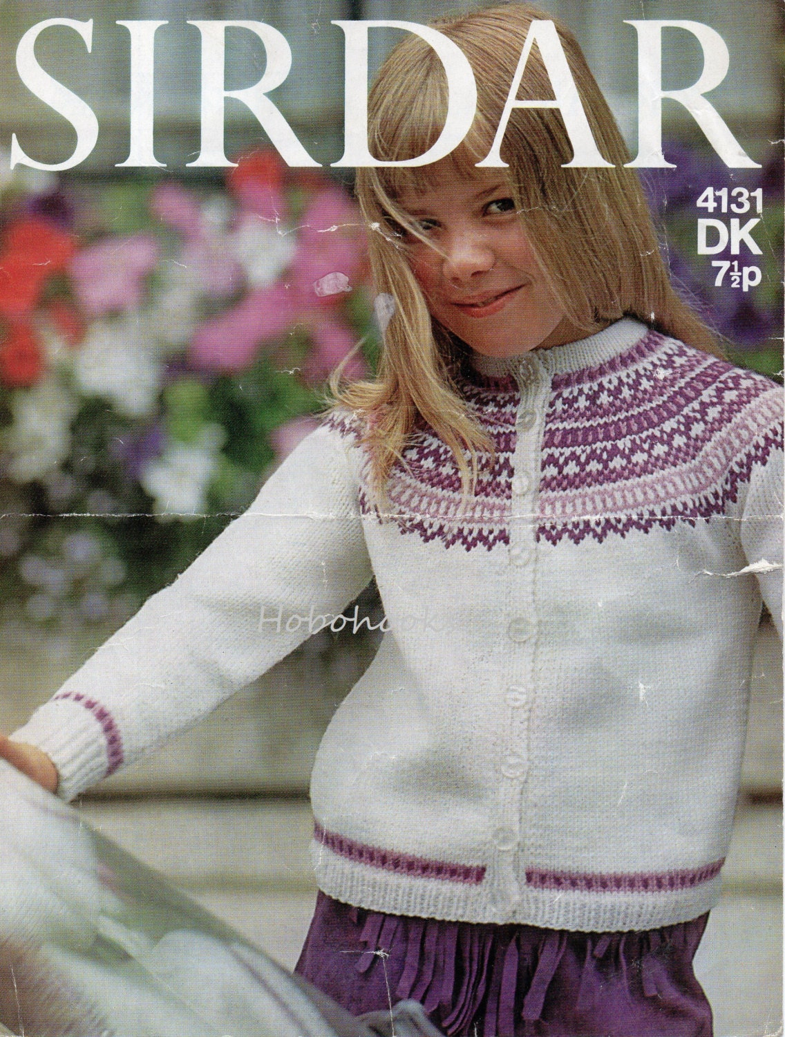 Fair Isle Knitting Kits Canada : Childrens fair isle cardigan yoke childs