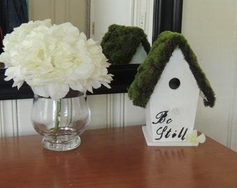 Birdhouse, decorative birdhouse, wooden birdhouse