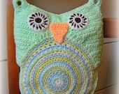 Pastel Owlet Pillow
