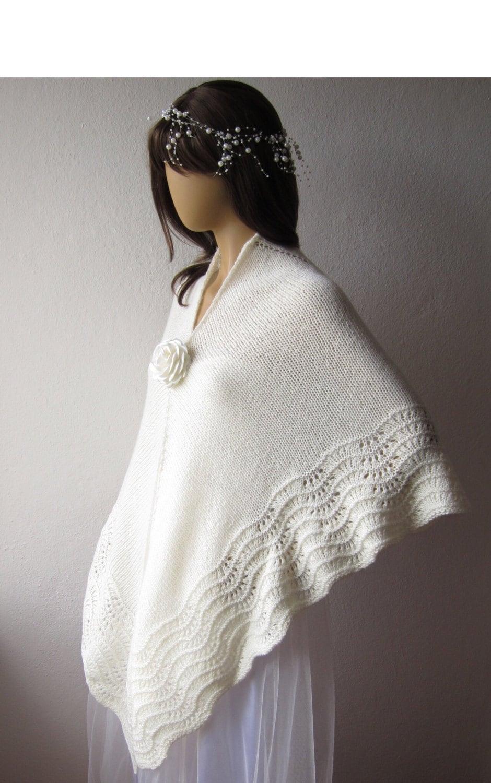 Winter wedding shawl plus size shawl bridal wrap warm for Winter shawls for wedding dresses