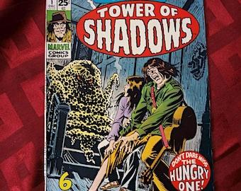 Tower Of Shadows No 1 Marvel Comics 1971 Ditko Adams Craig Sci Fi Witch Warlocks Horror Hungry One Spiritualist Automation Robots