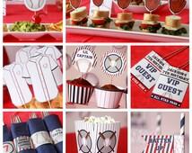 Baseball Birthday - Baseball Party - Baseball Decorations - Baseball First Birthday - Kids Baseball Party - Sports Party (Instant Download)