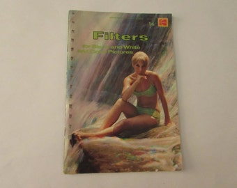 Vintage (1970s) Kodak photo information book, 'Filters for Black and White and Color Pictures'