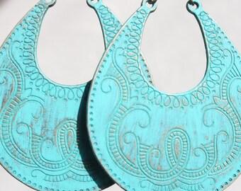 Turquoise Earrings Boho jewelry Bohemian Earrings Boho Earrings Gypsy Earrings Bohemian Jewelry Tribal Earrings Ethnic Earrings Gift For Her