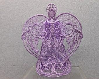 Lovely Lavender Angel