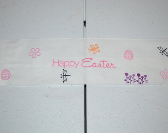 50 Happy Easter Tableware Paper Bags/Cutlery Bags/Easter Bags/Easter