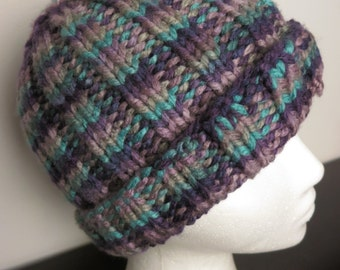 Multi-Colored Knit Hat