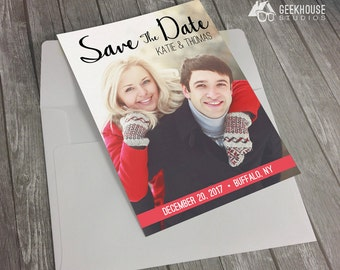 Full Picture Save The Date - Engagement Announcement