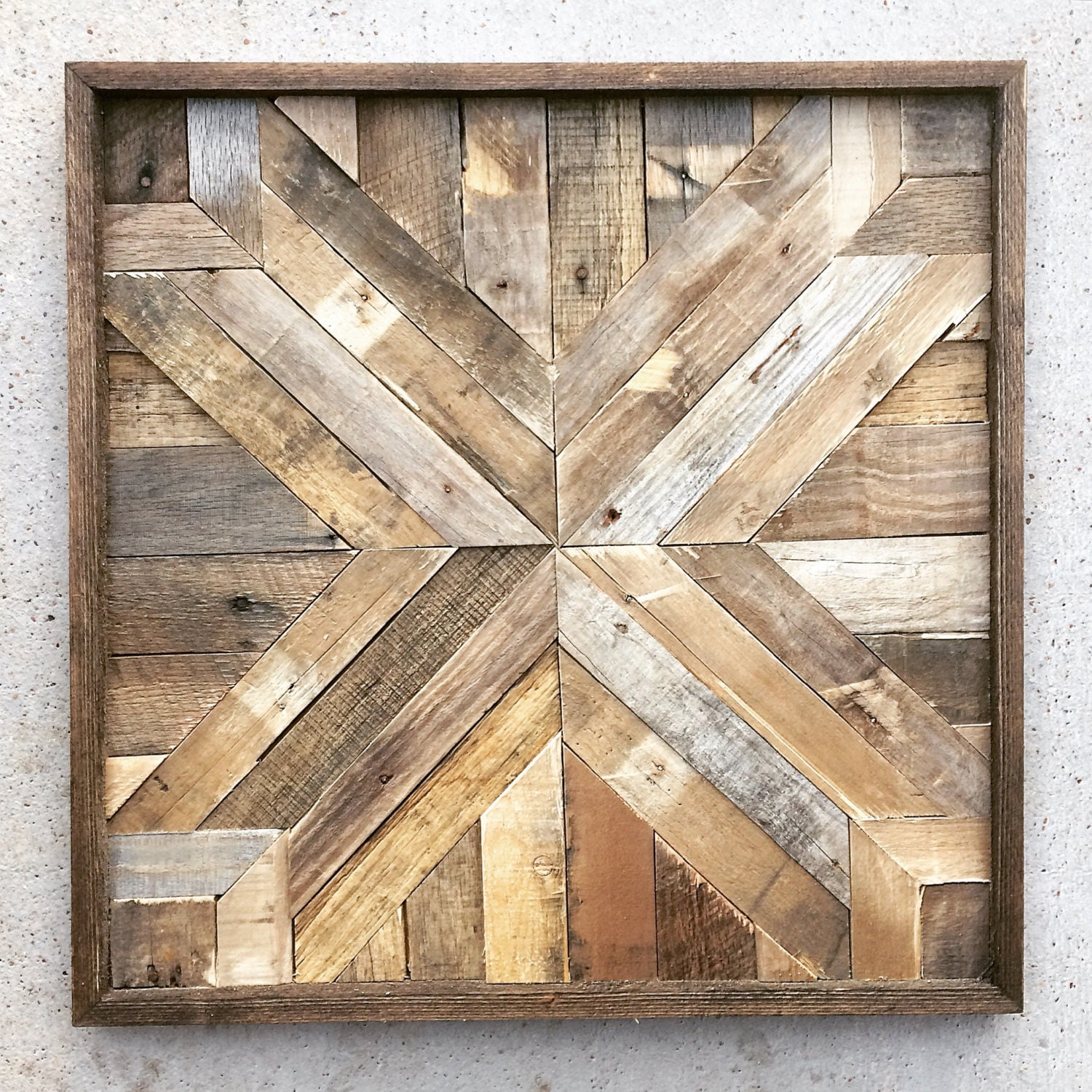 Reclaimed Wood Wall Art Barn Wood Reclaimed By DallasFarmhouse
