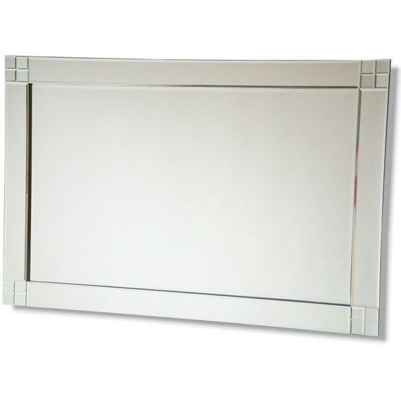 Items similar to contemporary mirror 120 x 80 cm 48 x 31 for Mirror 120 x 80