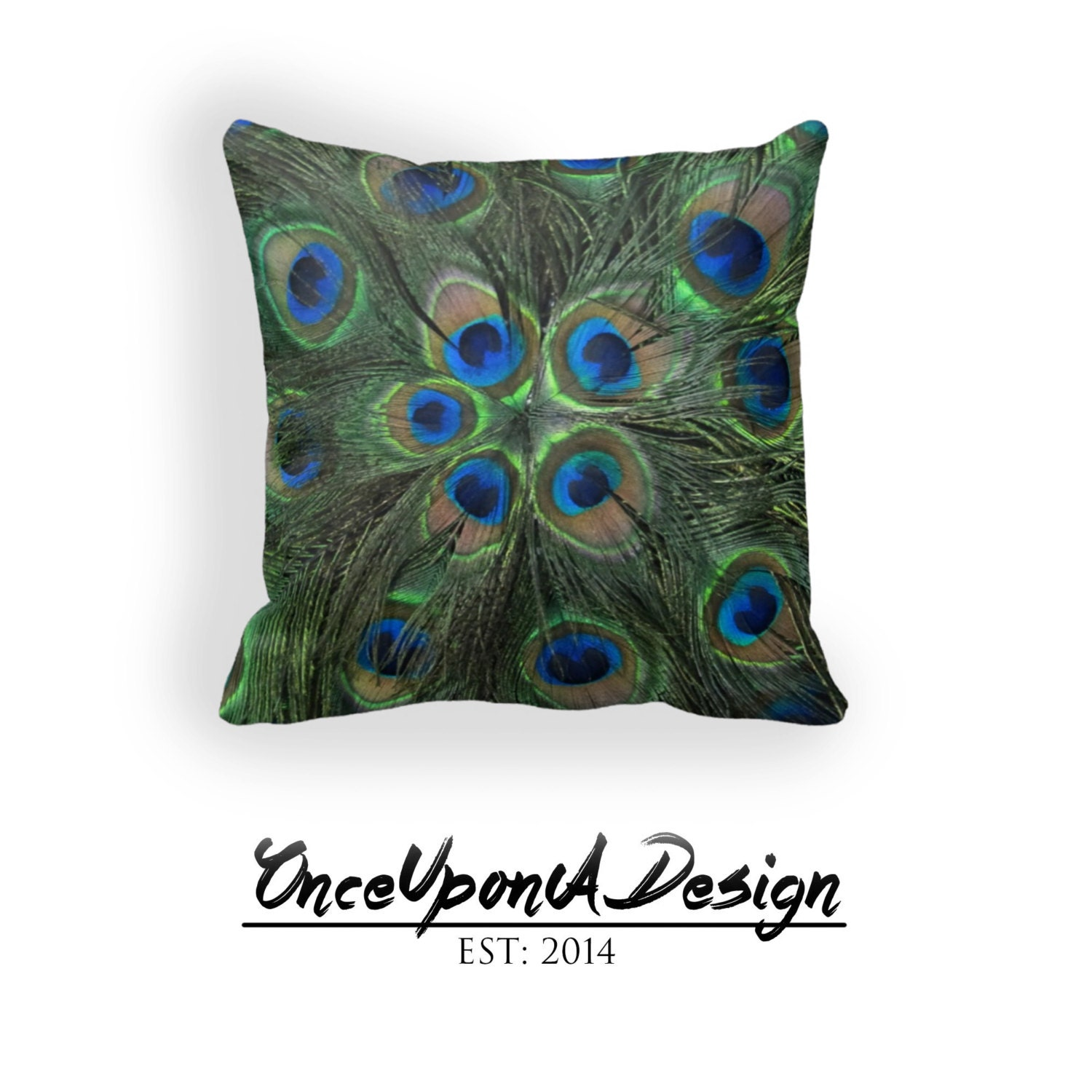 Throw Pillow Peacock : Cool Peacock Throw Pillow Peacock Decorative Pillow by DesignyLand