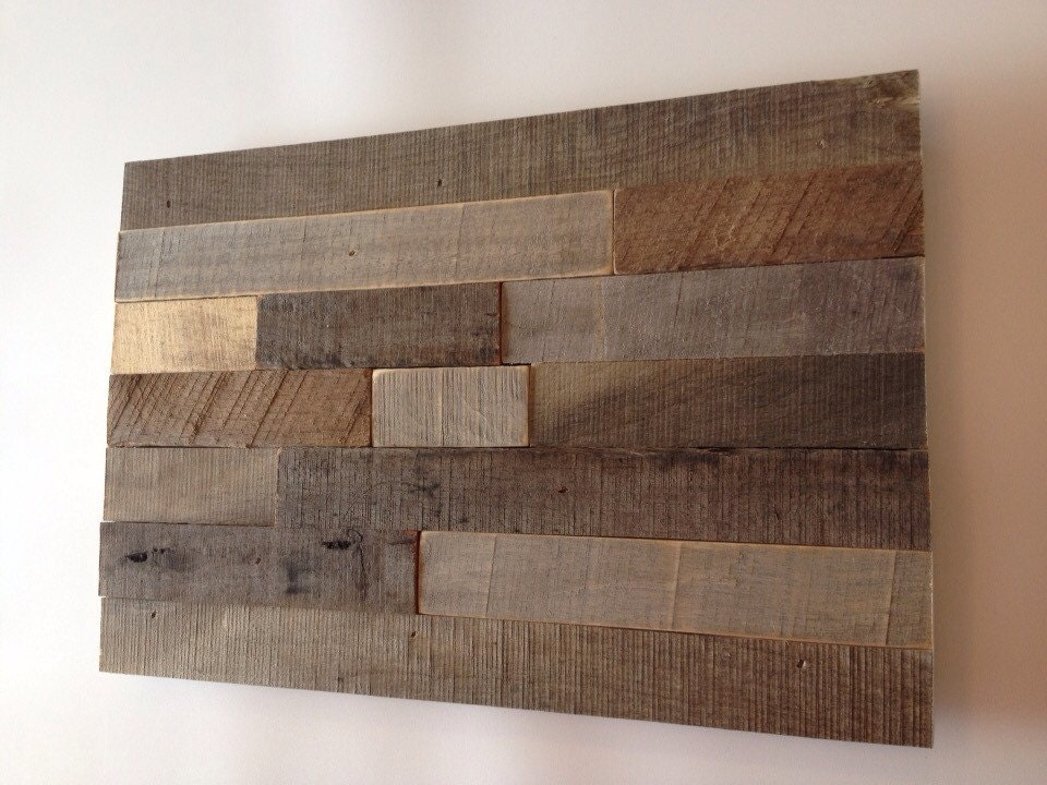 Modern Rustic Wall Decor : Rustic wall art made from reclaimed wood abstract modern