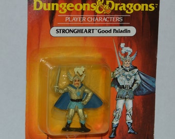 "Strongheart MOC 2"" mini Advanced Dungeons and Dragons figure D&D tsr LJN 1983"